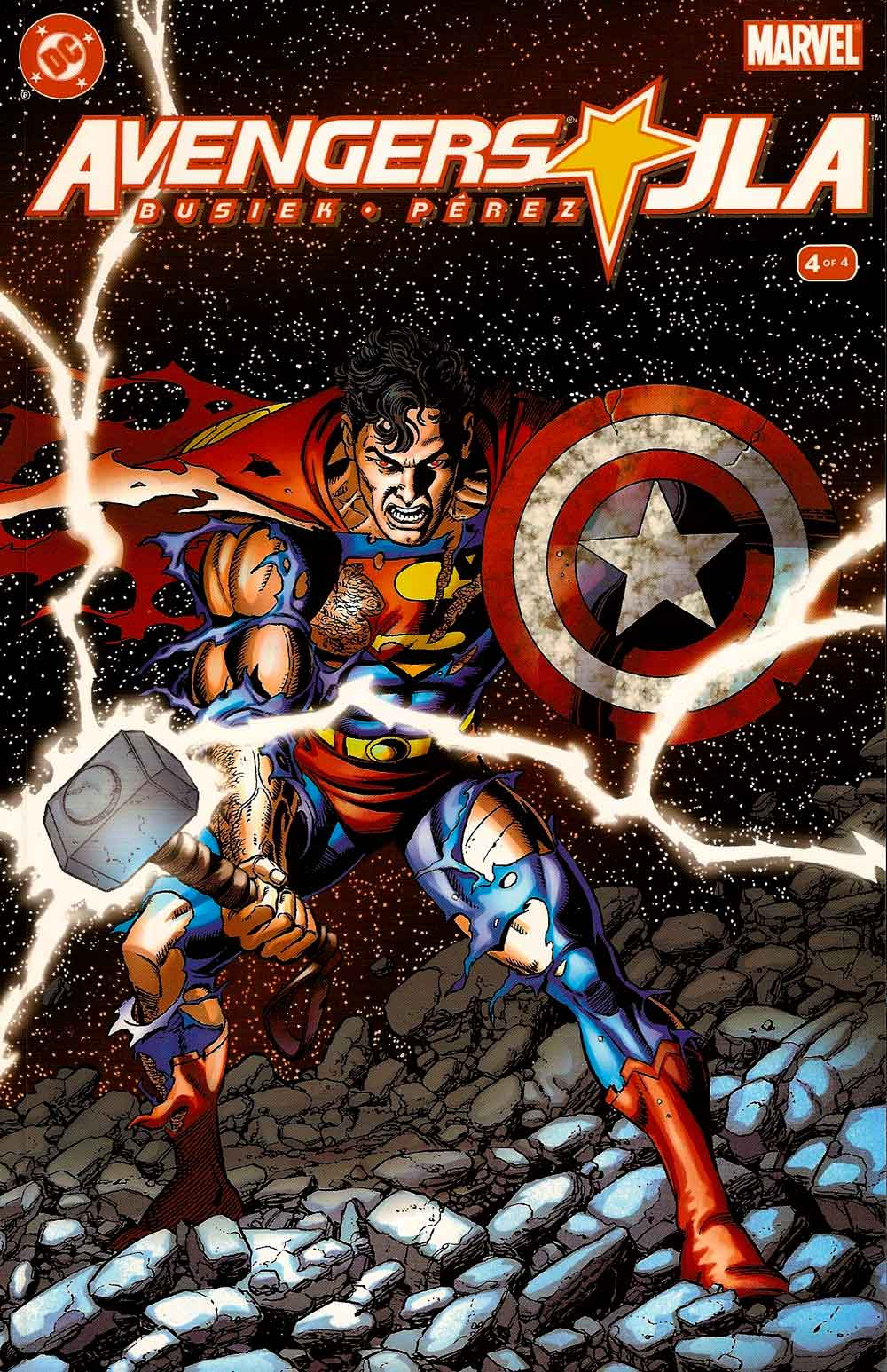 Portada avengers/JLA Nº4