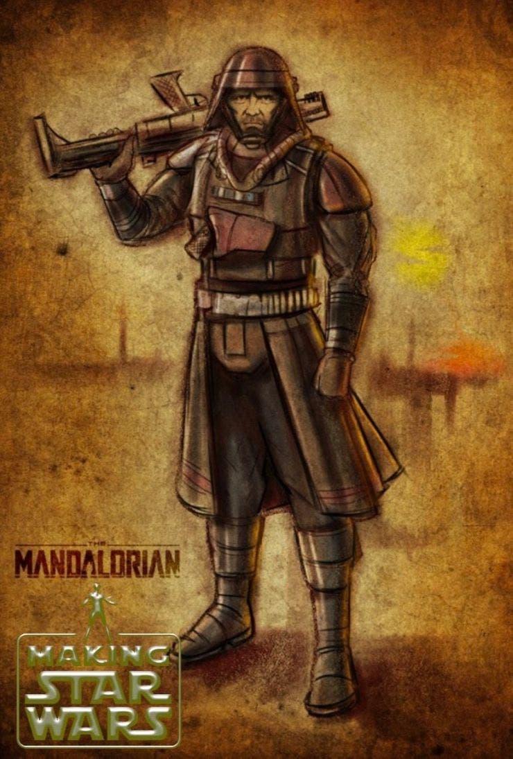 Primera imagen del personaje de Michael Biehn en The Mandalorian
