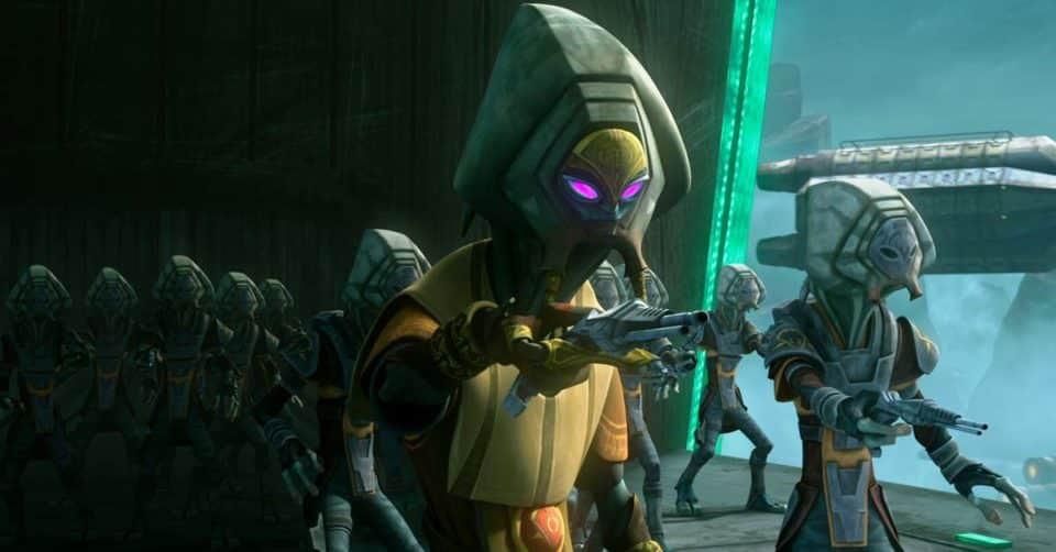 Star Wars: The Clone Wars Sindicato del crime Pyke