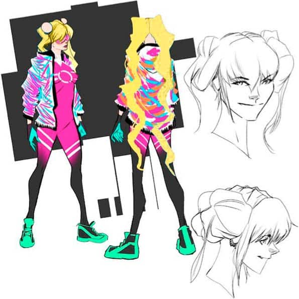 Super Teen Concept Art Robbi Rodriguez