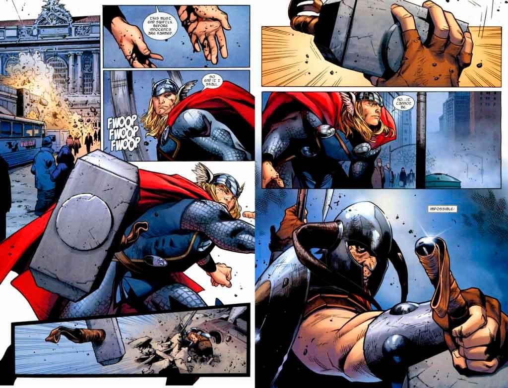 Thor vs Bor