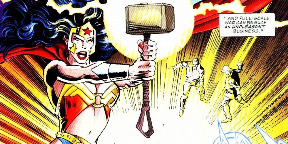 Woner Woman Mjolnir