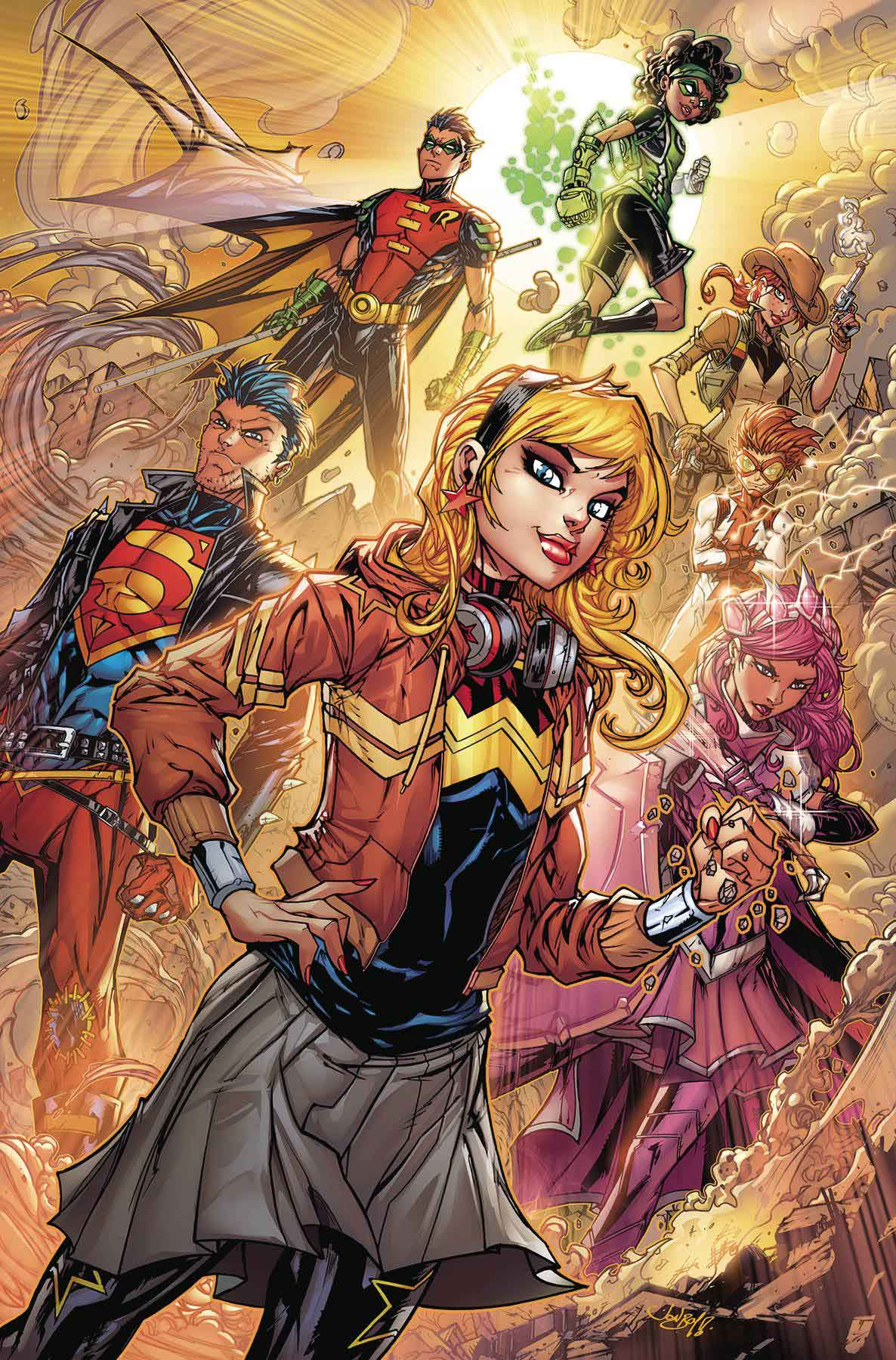 Young justice 8 cover