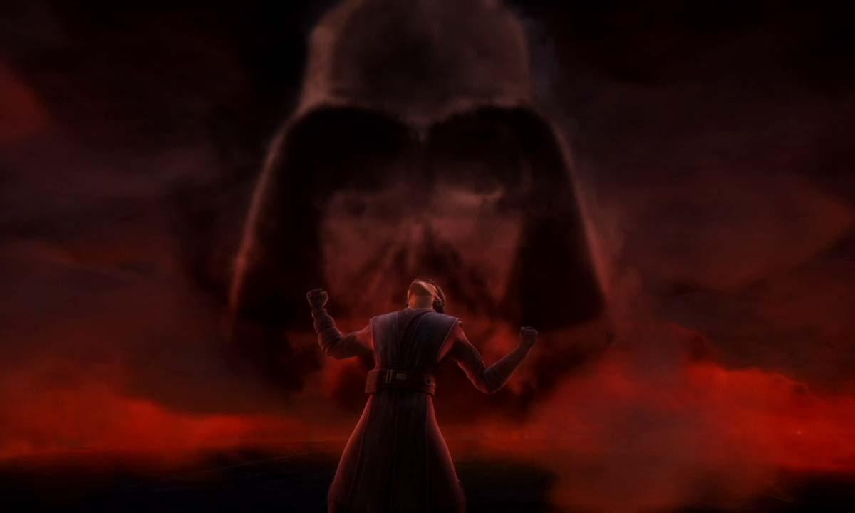 anakin vision darth vader clone wars