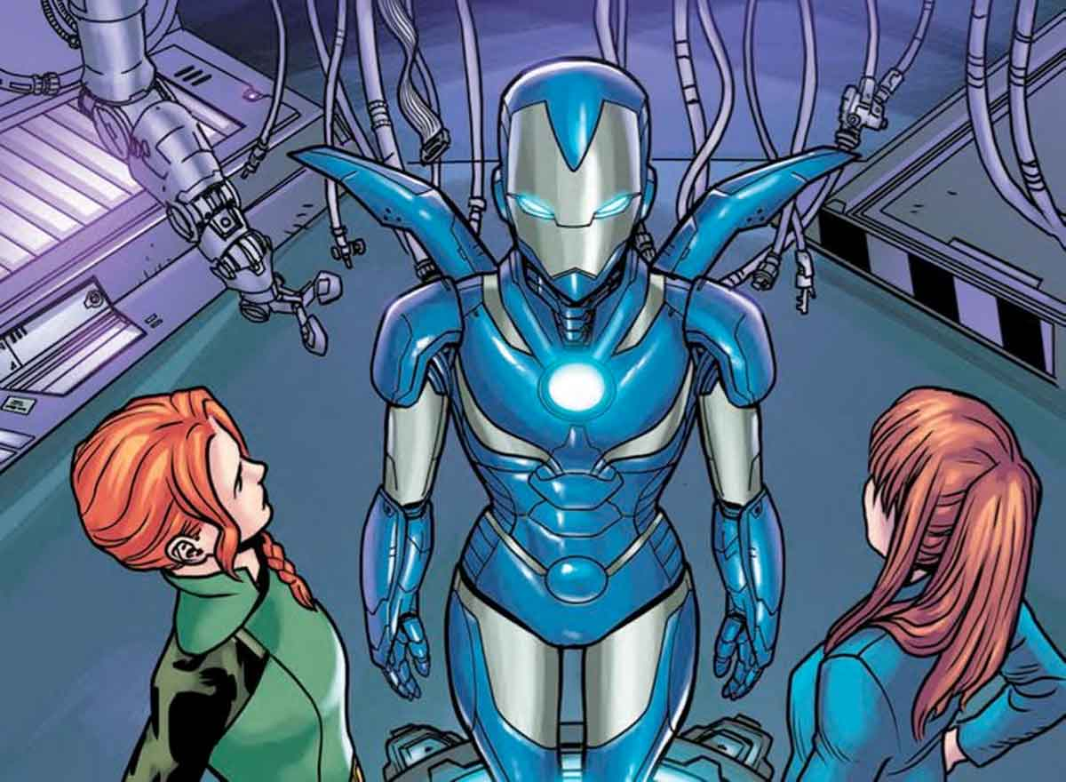 La armadura con la que salvarán a Iron Man / Tony Stark