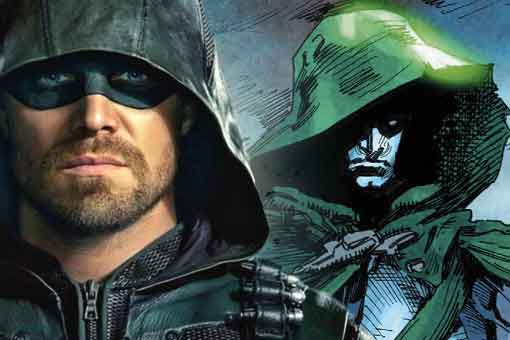 arrow the spectre dc comics