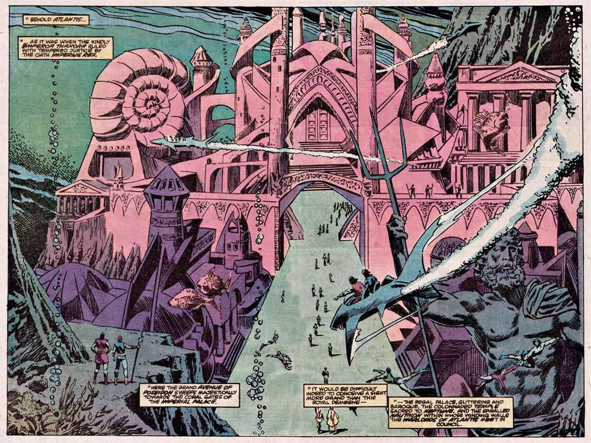 El reino de Namor podría aparecer en la próxima película de Marvel