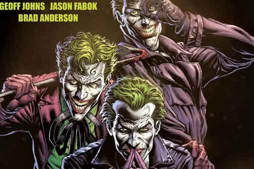 Batman: Tres Jokers de DC Comics