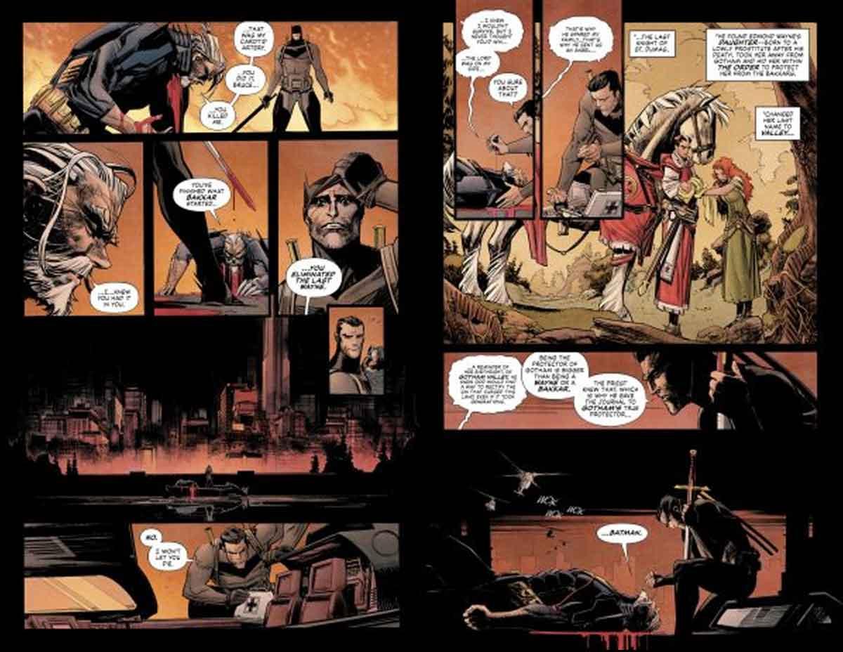 Batman rompe su regla de no matar