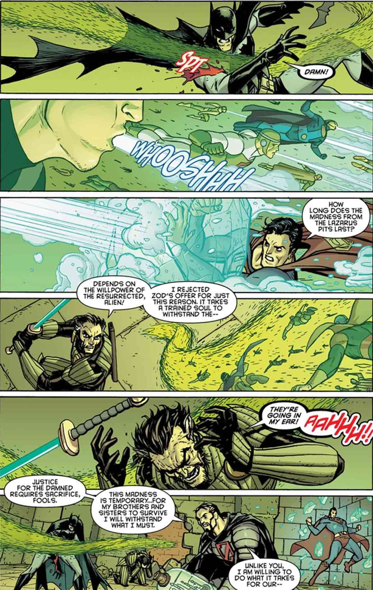 Batman y Superman se enfrentan a una pesadilla Kryptoniana