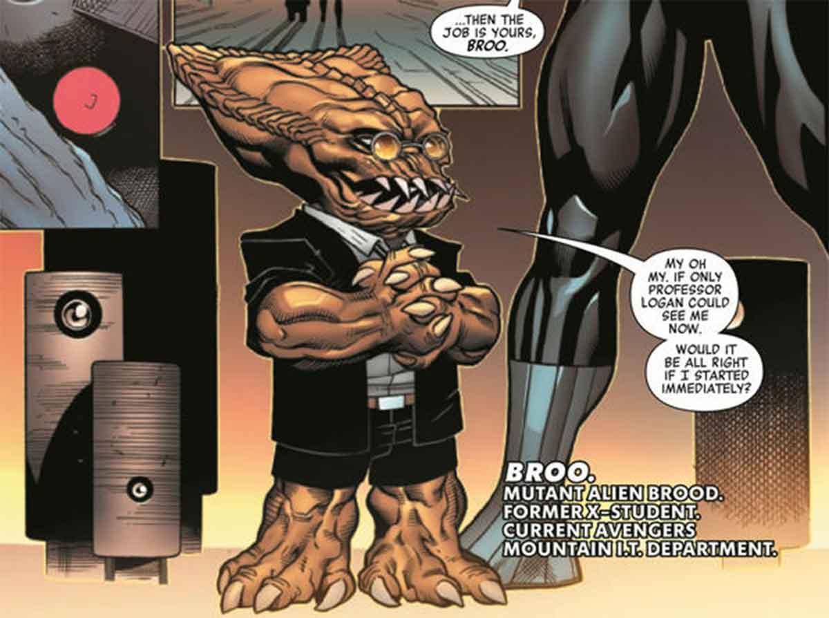 Un X-Men se ha convertido en el rey de trillones de alienígenas