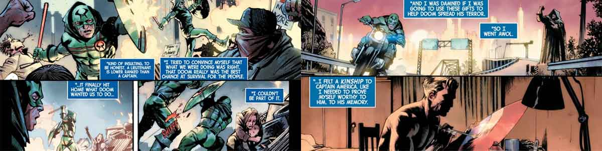 Marvel revela el origen del futuro Capitán América