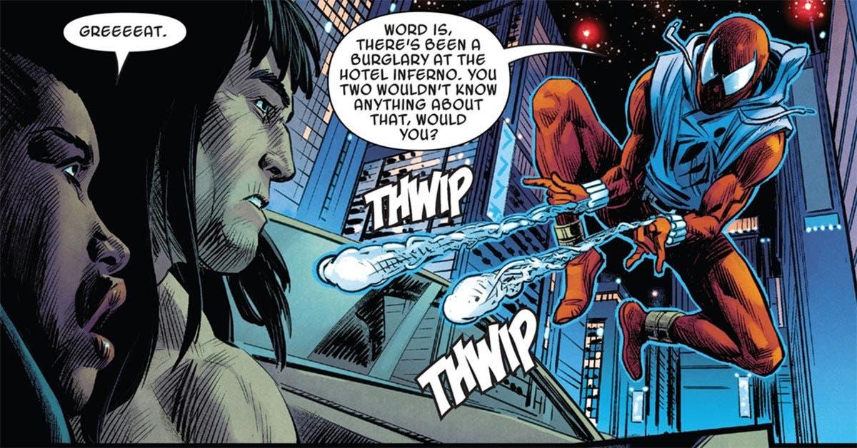 Conan el bárbaro destruye a un Spider-Man