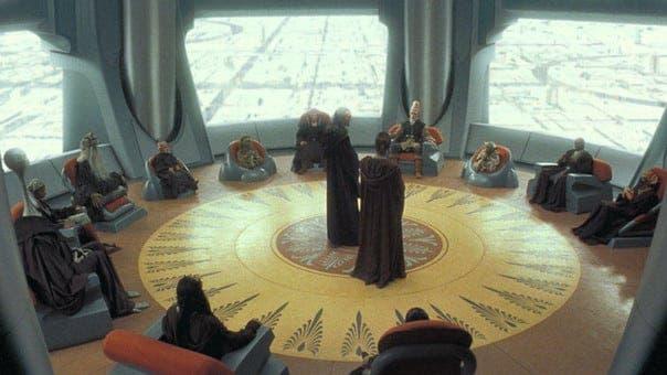 consejo Jedi un grupo de tontos