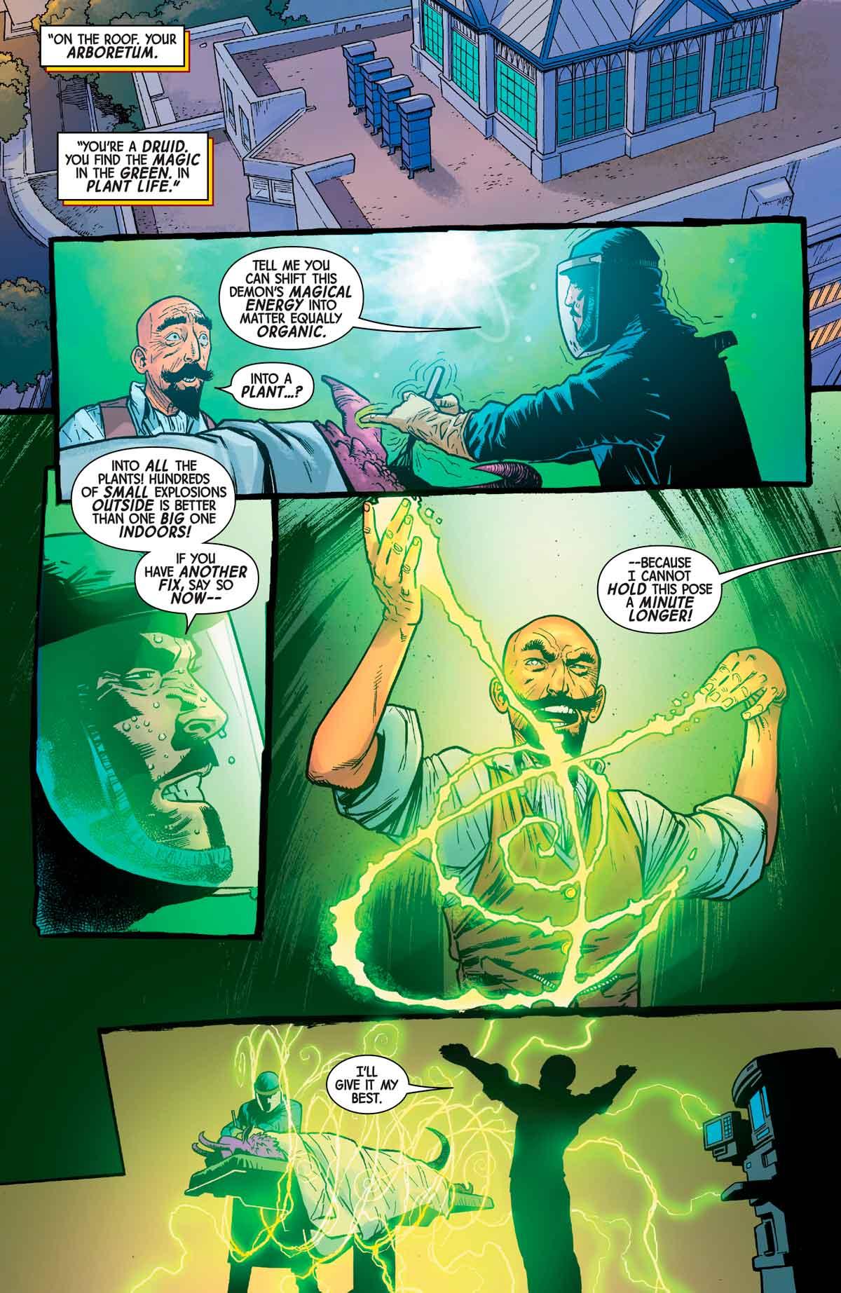Doctor Strange forma el dúo místico más poderoso de Marvel
