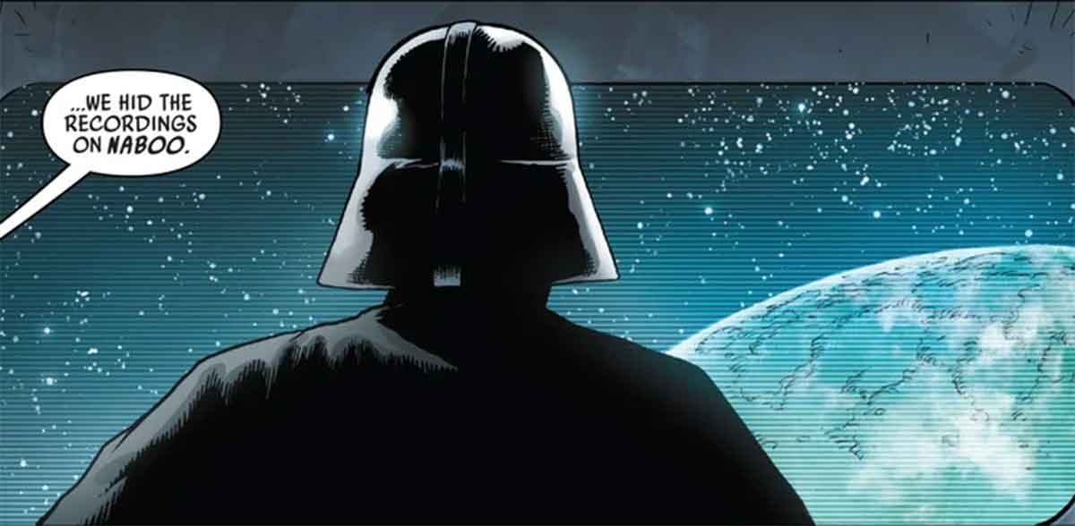 Star Wars revela la primera vez que Darth Vader regresó a Naboo
