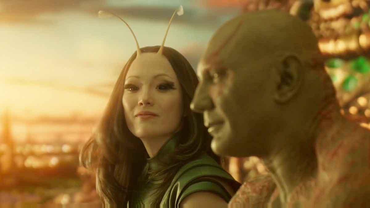 Dave Bautista quiere hacer una película de Marvel de Drax y Mantis
