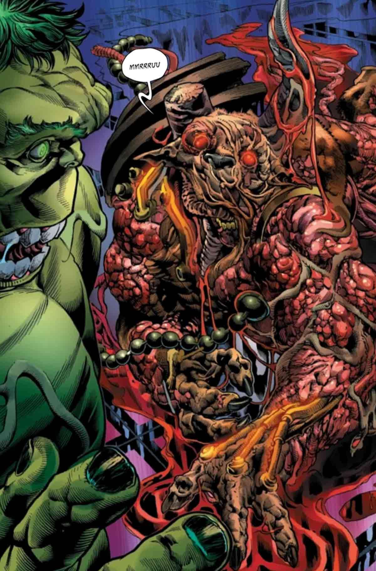 El Minotauro de Marvel se transforma en un ser abominable