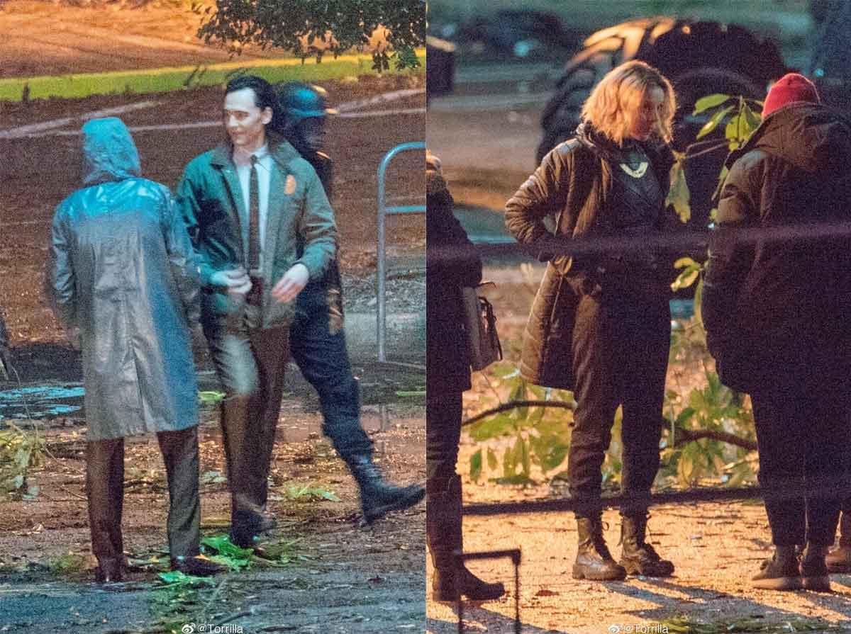 Filtran escenas del rodaje de la serie Loki y primera imagen de Lady Loki