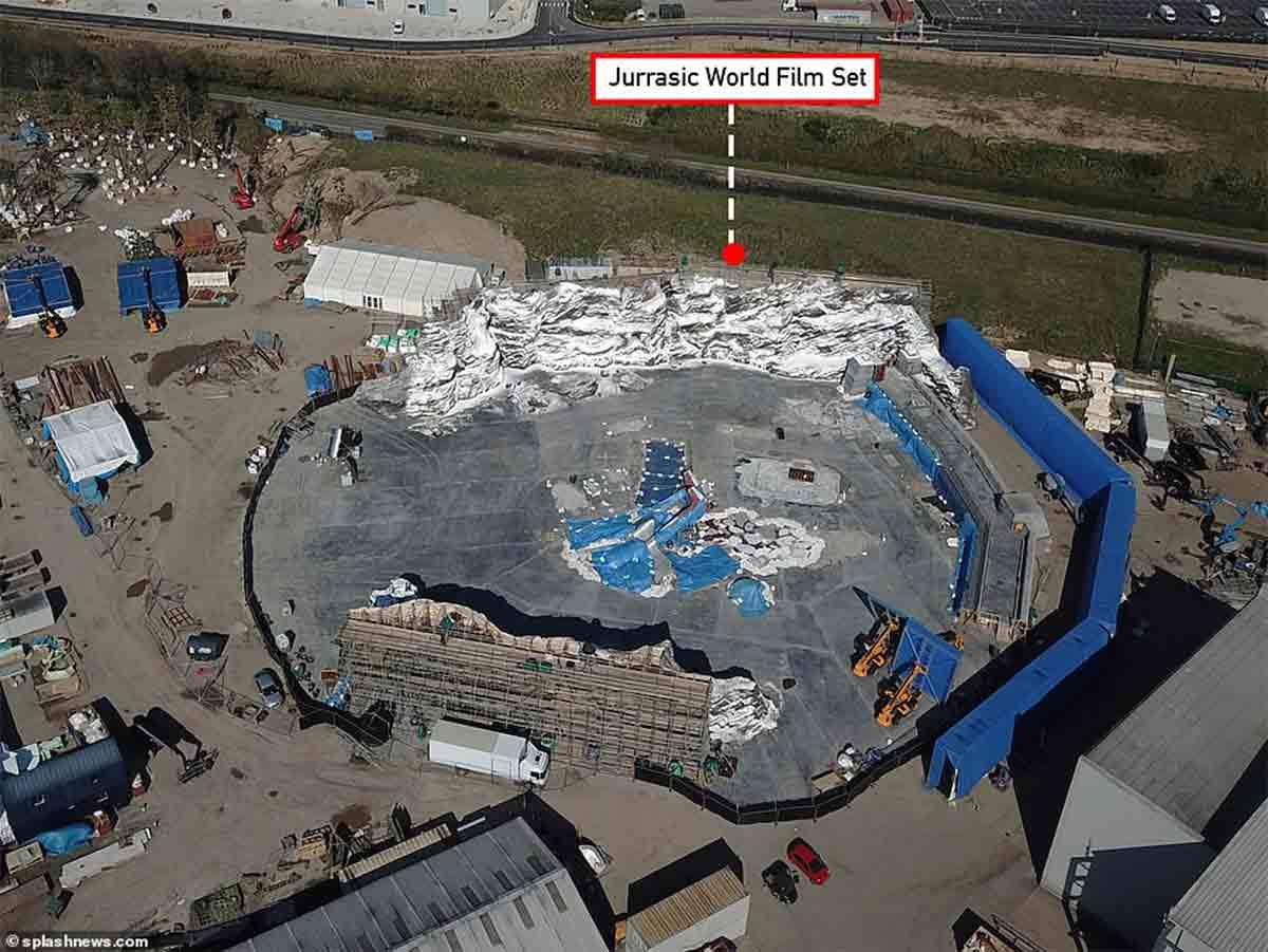 Desoladoras fotos del set de rodaje abandonado de Jurassic World 3