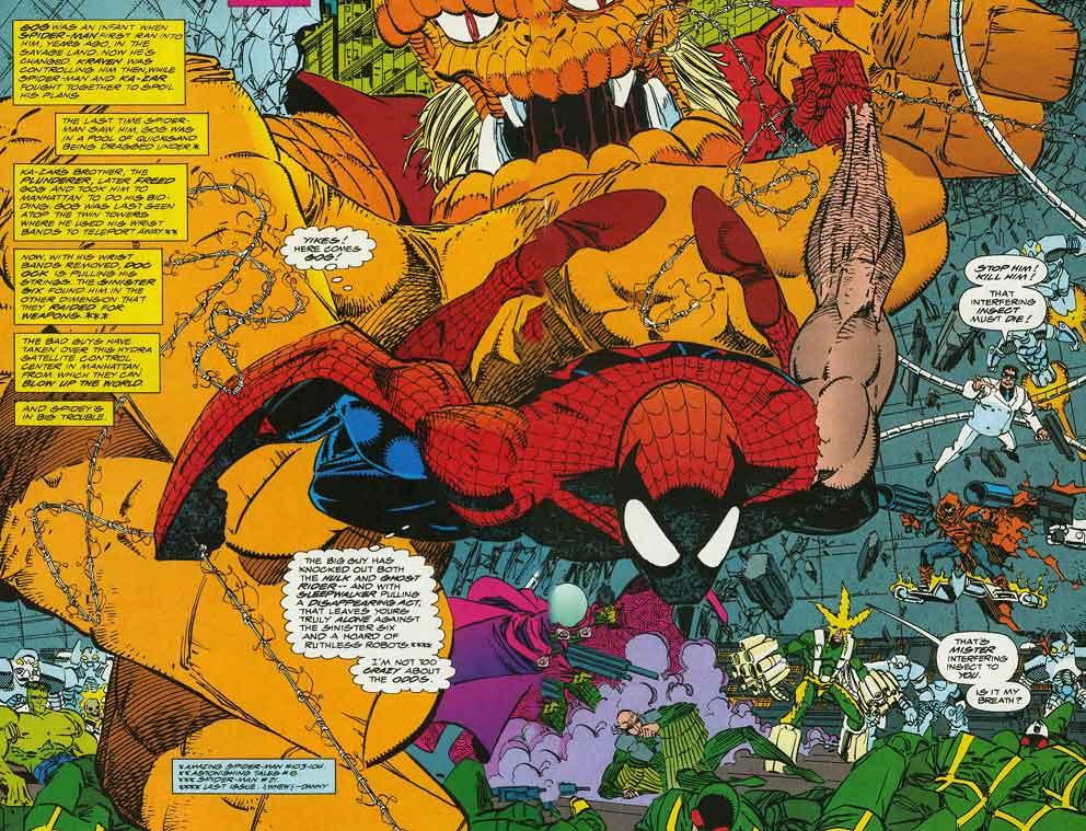 The amazing spider-man gog y los seis siniestros