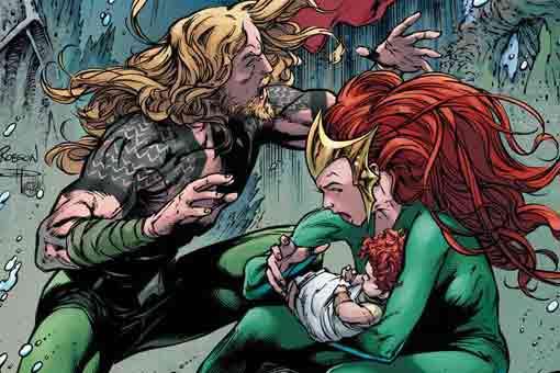 El gran misterio de la hija de Aquaman y Mera