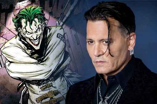 Espectacular Fan Art de Johnny Depp como el Joker de The Batman