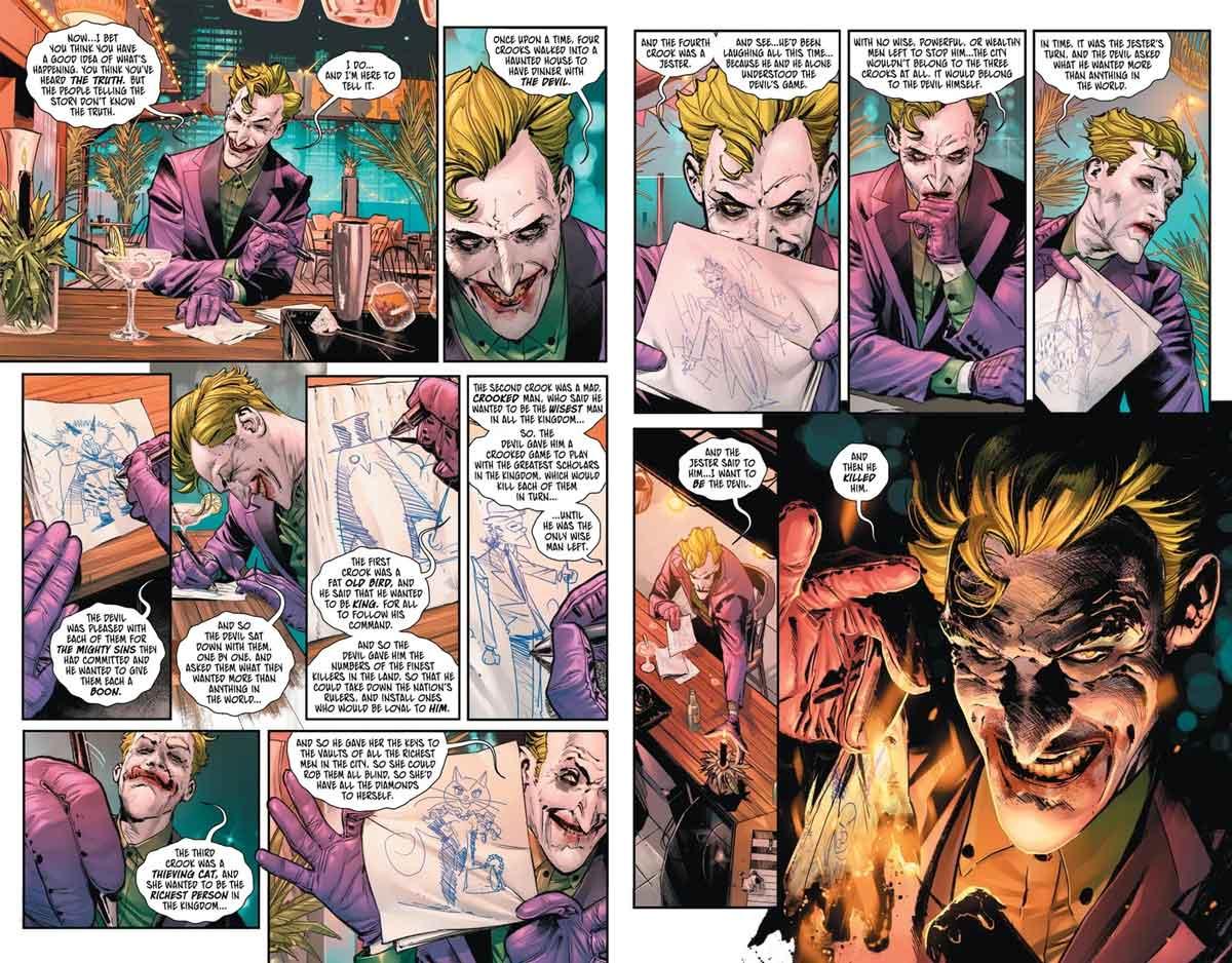 Joker revela su pacto con el Diablo