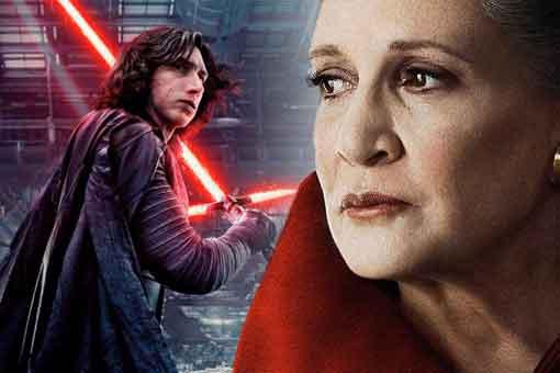 Star Wars explica por qué la muerte de Leia redimió a Kylo Ren