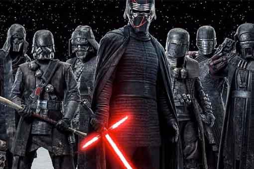 Star Wars kylo Ren Caballeros de Ren