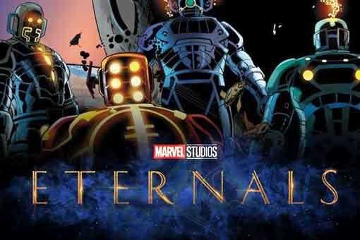 La película Los Eternos de Marvel se está terminando desde casa