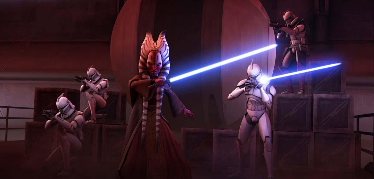 Star Wars: The Clone Wars. Los jedi lideran el ejercito clon