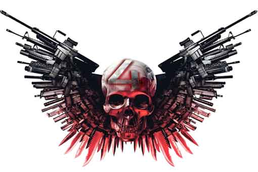 Los Mercenarios 4 es brutal, pero puede que no la hagan