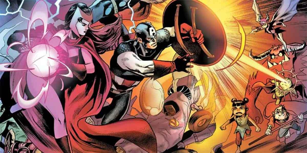 Los Vengadores derrotados por dibujos infantiles