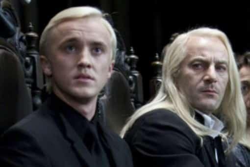 La reunión de los Malfoy: Tom Felton y Jason Isaacs hicieron un videochat