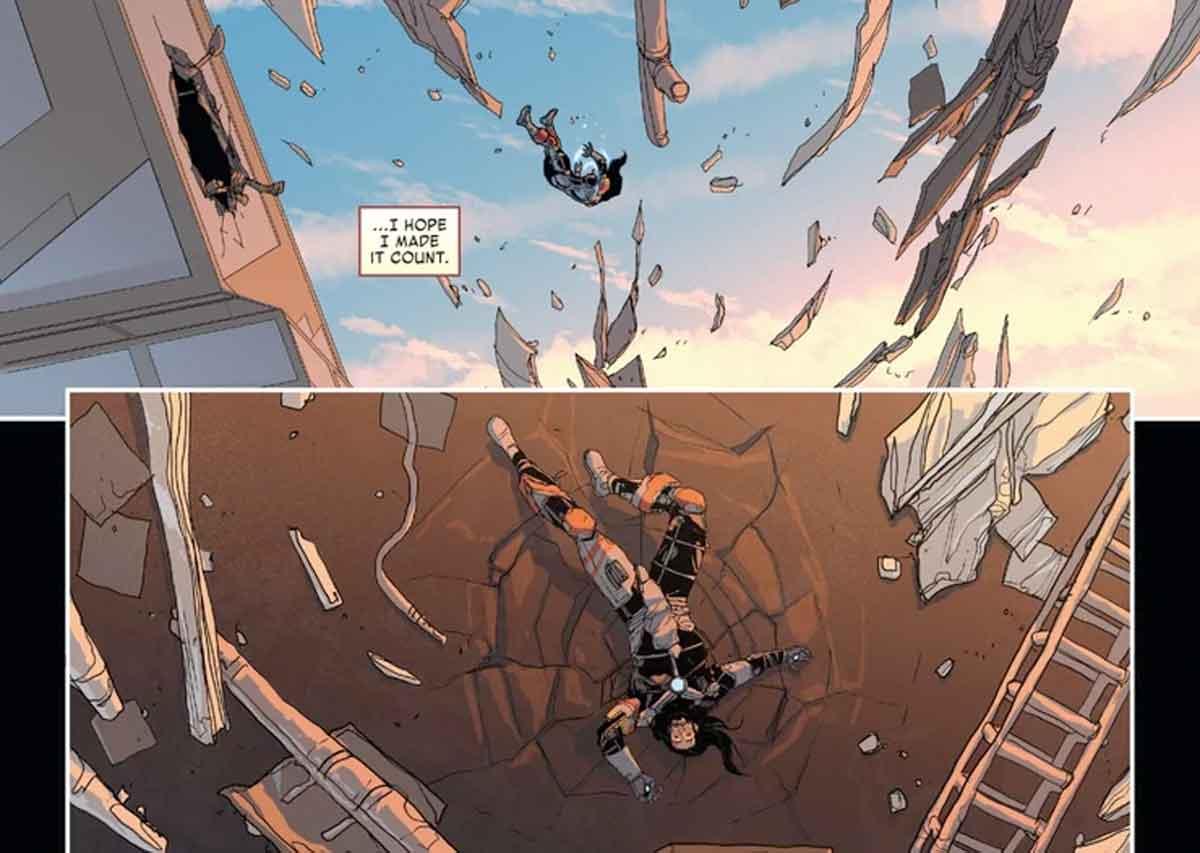 Marvel vuelve a matar a Tony Stark / Iron Man