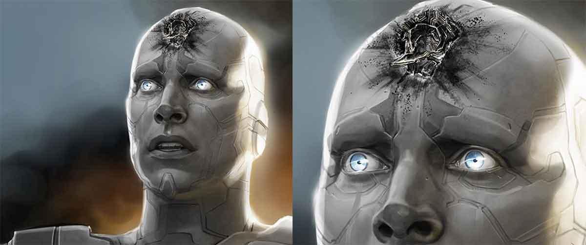 Vengadores: Infinity War revela nueva versión de la muerte de Vision