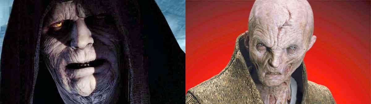 El Emperador casi aparece en Star Wars: El despertar de la Fuerza (2015)
