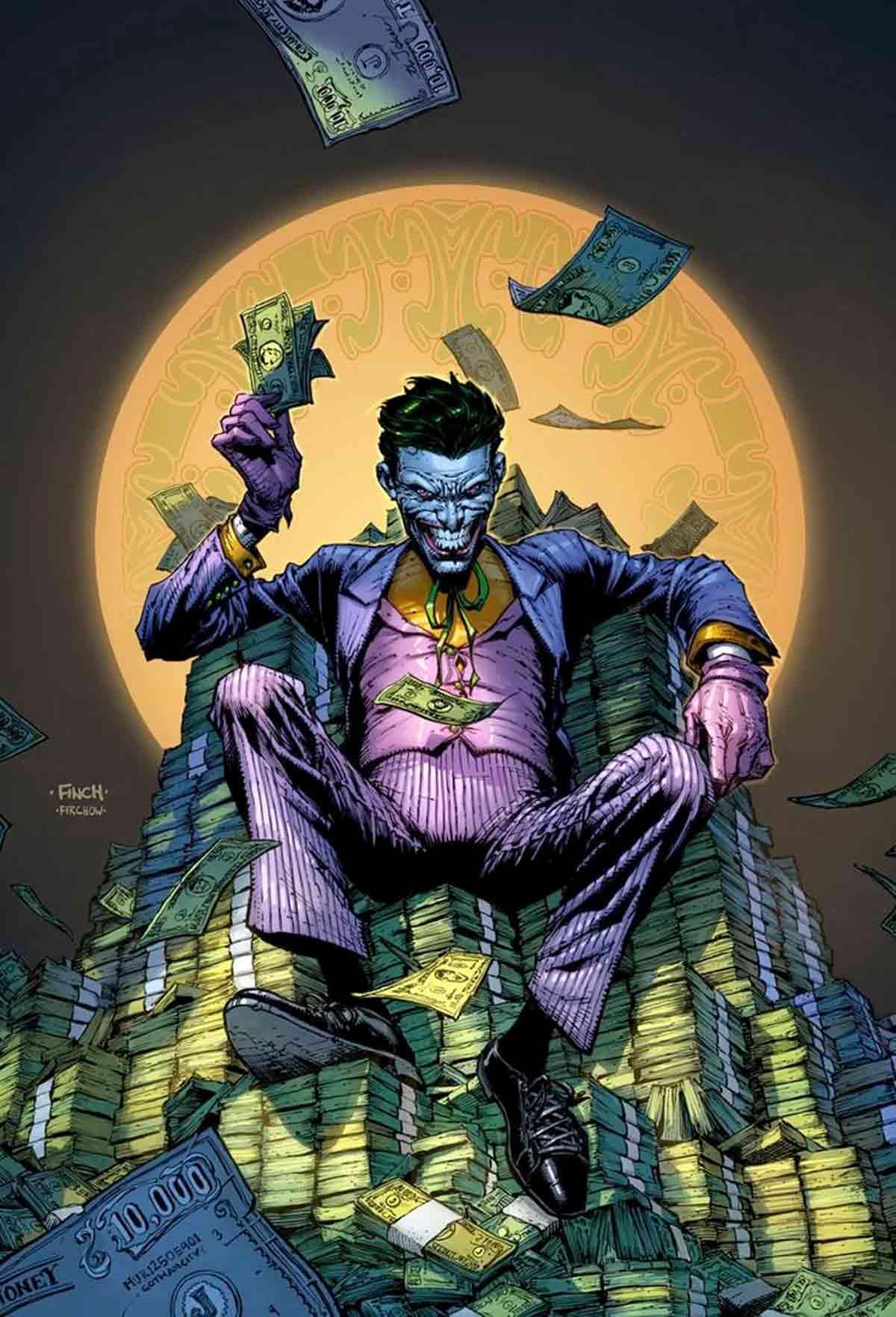 DC Comics presenta todas las portadas por el 80 aniversario del Joker