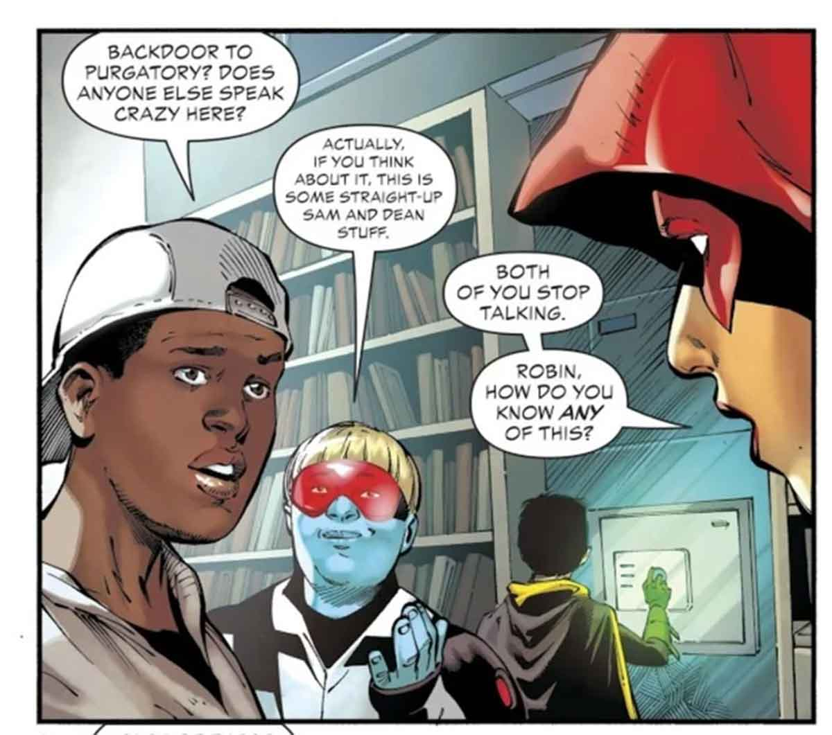 La serie Sobrenatural existe dentro del Universo DC Comics