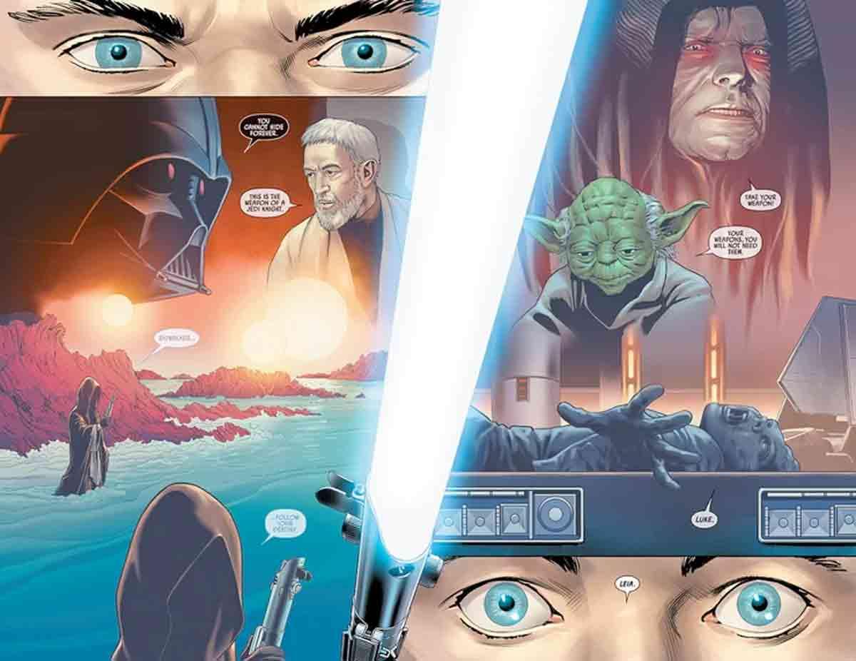 Star Wars arregla el agujero de guión del sable de luz de Luke Skywalker