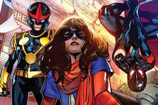 Marvel revela por qué los héroes adolescentes están fuera de la ley