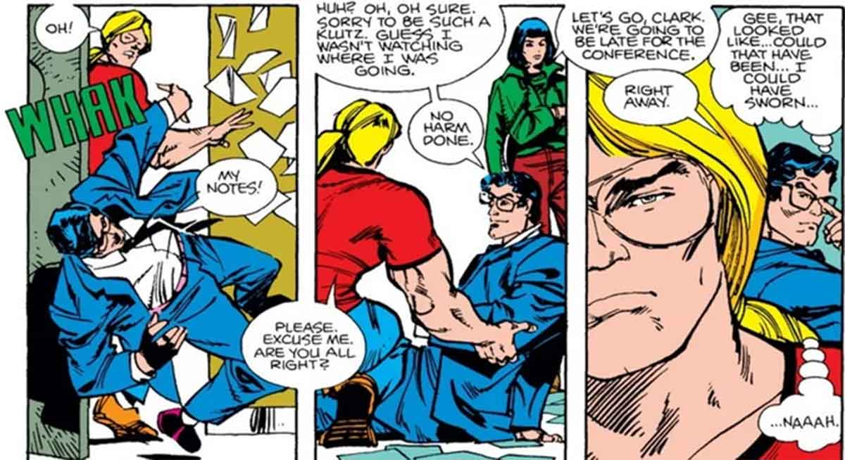 Cuando Thor engañó a Superman