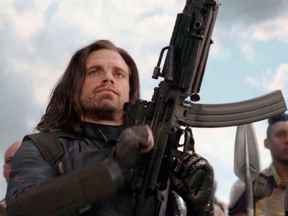 The Falcon and the Winter soldier. Bucky no siente envidia por el escudo del Capitán América
