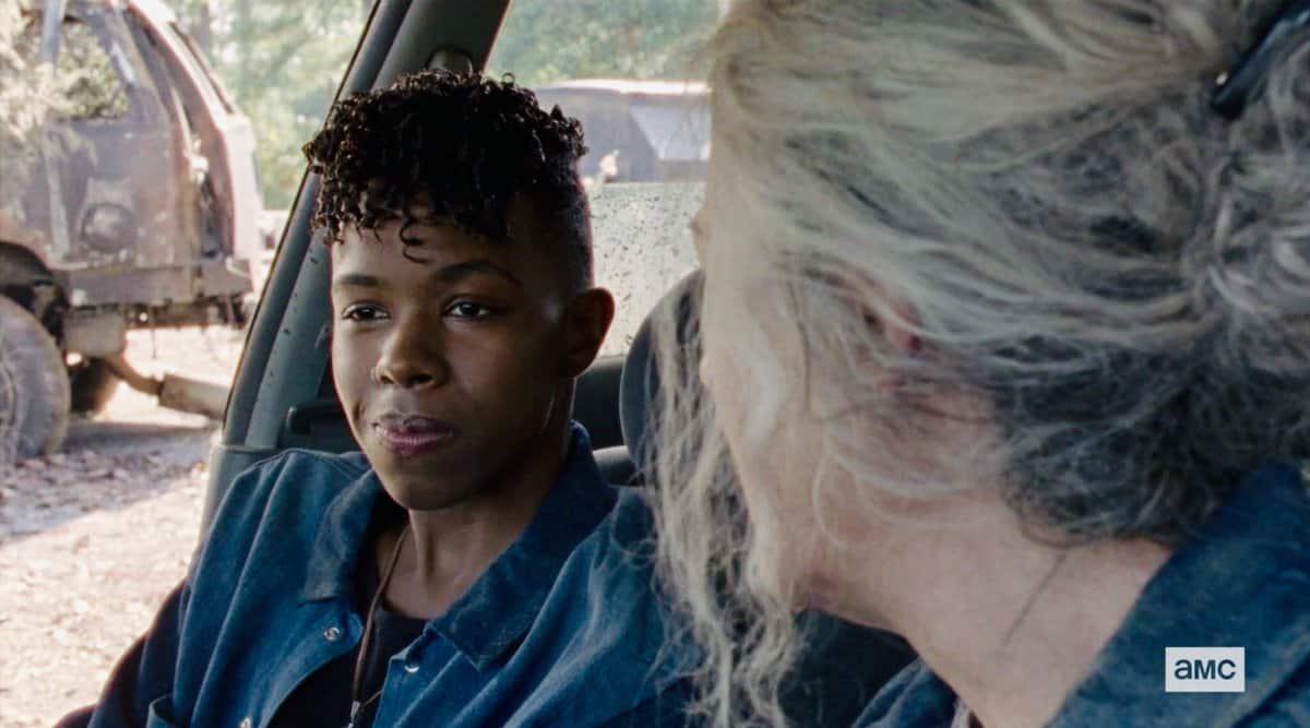 Carol y Kelly TWD