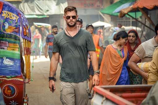 Chris Hemsworth Thor es Tyler Rake