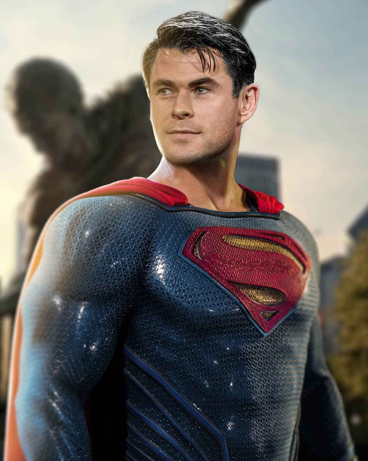 Espectacular Fan Art de Chris Hemsworth como Superman