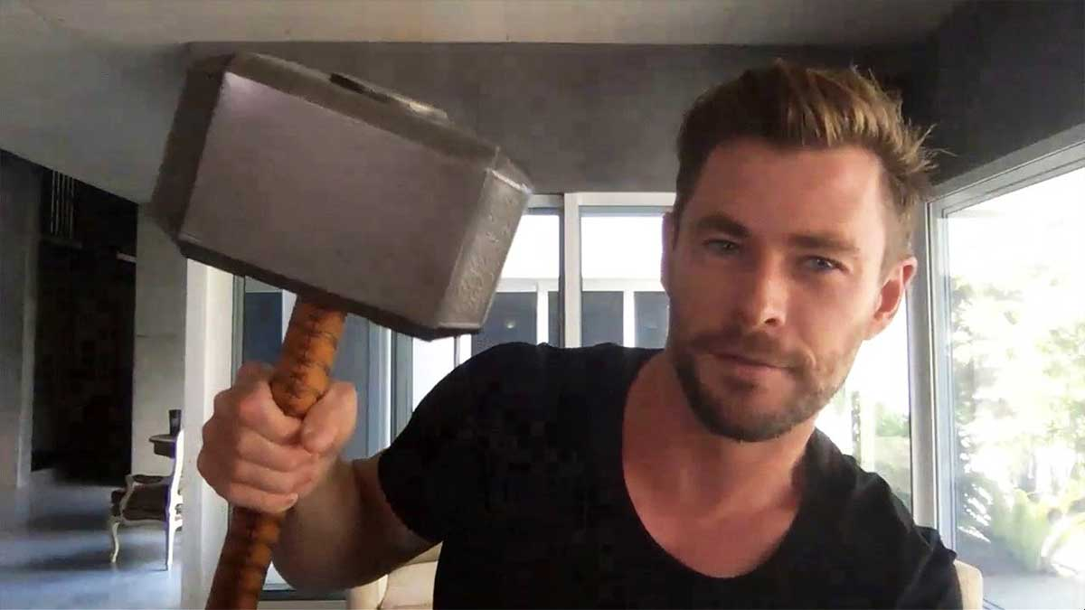 Chris Hemsworth revela que objetos de Marvel se quedó de los rodajes