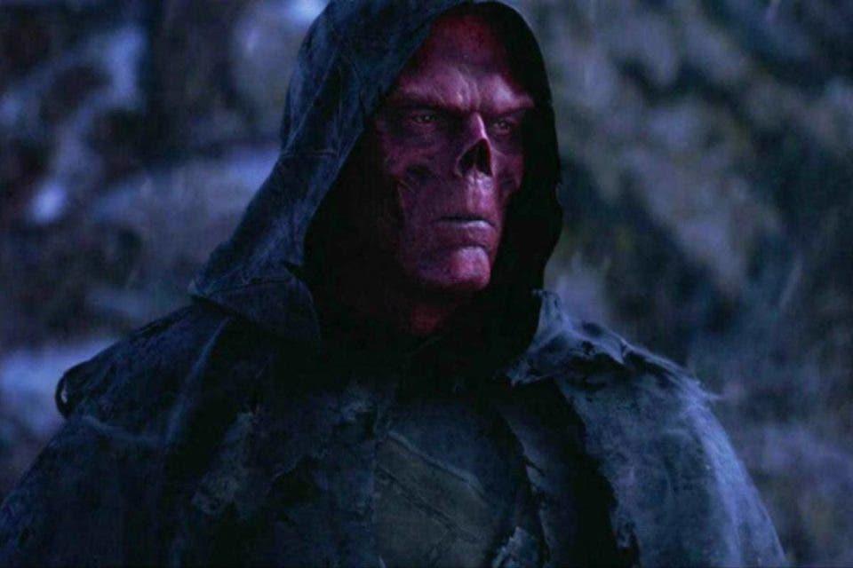 Cráneo rojo en Vengadores Endgame