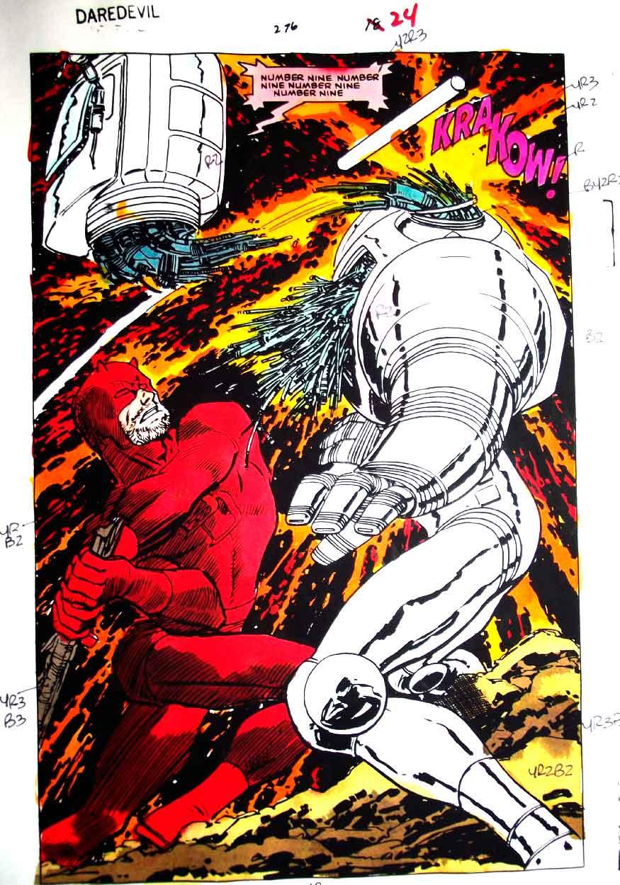 Daredevil vs Ultron John Romita Jr.
